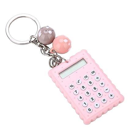 Llavero Mini calculadora, calculadora electrónica portátil ...
