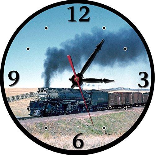 union-pacific-railroad-big-boy-round-clock
