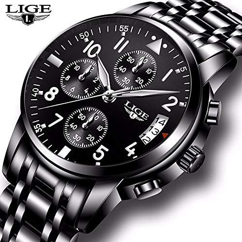 Best-selling Men Business Watch Chronograph Clock Brand Luxury Fashion Casual Sport Waterproof Quartz Wrist watch