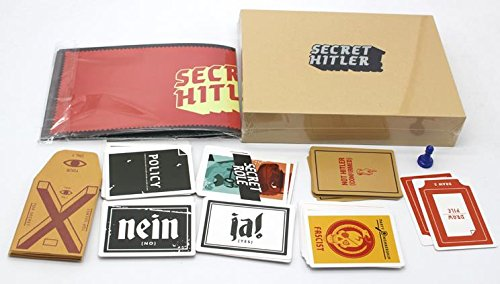 SECRET HITLER Card Play Game, Table Puzzle Game Anti-humanity, Fitted To Party And Outdoors Activity