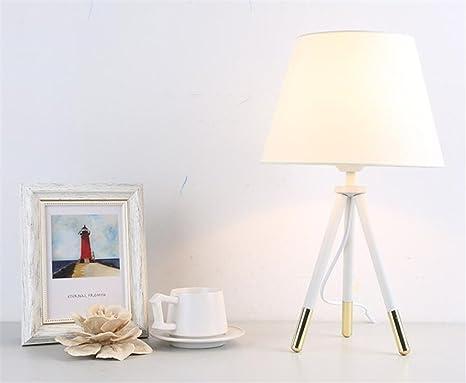 Lucky clover a lampada da tavolo in metallo minimalista paralume