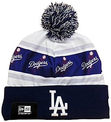 Los Angeles Dodgers Ka Nit Cuffed Pom Knit Beanie Hat / Cap