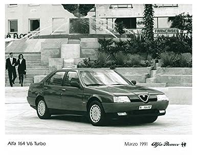 Alfa Romeo 164 >> 1991 Alfa Romeo 164 Automobile Photo Poster