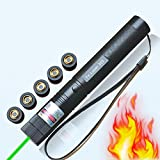 High Power Laser Torch Style Focusable Lazer Projector Flashlight Pen Green Beam Laser Pointer Lazer Projector
