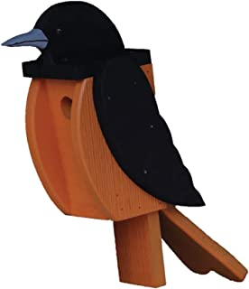 product image for DutchCrafters Wood Bird Shaped Birdhouse (Oriole)