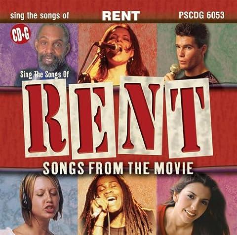 RENT: Songs From The Movie (Karaoke CDG) - Pocket Songs Karaoke