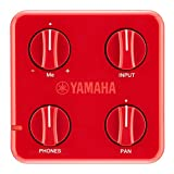 Yamaha SC-01 Session Cake Portable Mixer, Red
