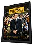 The Wolf of Wall Street (2013) 27 x 40 Movie Poster - Style B - in Deluxe Wood Frame