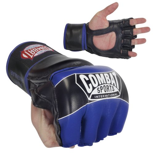 - Ringside Combat Sports Pro Style MMA Gloves, Blue, Small