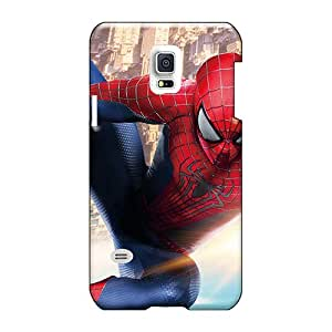 Perfect Hard Cell-phone Case For Samsung Galaxy S5 Mini (llC371FLaZ) Allow Personal Design Nice The Amazing Spider Man 2 New Pattern