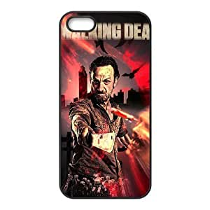 Cool Painting The Walking Dead The Unique Printing Art Custom Phone Case for Iphone 5,5S,diy cover case case322243