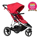 phil&teds Dash Inline Stroller - Red