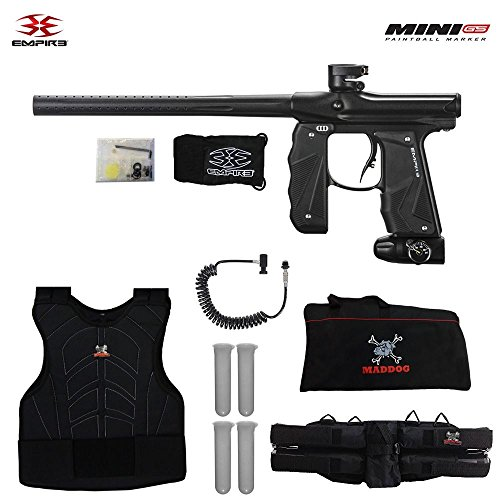 (Empire Mini GS Sergeant Paintball Gun Package - Dust Black)