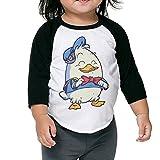 Dapper Duck Kids 3/4 Raglan Baseball T Shirts