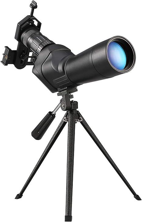 Dohiker Telescopio Terrestre 20-60x60 Telescopio Monocular ...