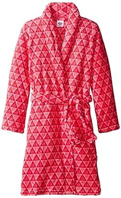 Calvin Klein Girls' Printed Plush Robe