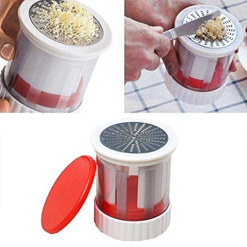 Melt Hot Dispenser (SUJING Butter Mill Grate Stainless Steel Cheese Vegetable Hand Slicer Fruit/Vegetable/Chocolate Grater)