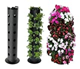 Vertical Gardening Strawberry Planter/Herb/Tomato/Pepper/Flower Tower Pot Stand
