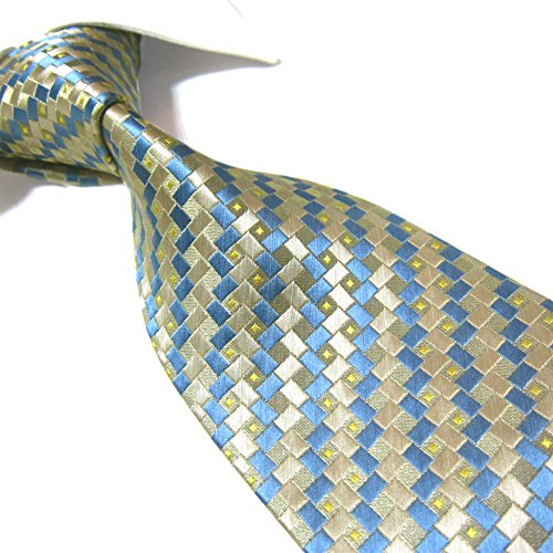 Blue Gold Necktie - 7