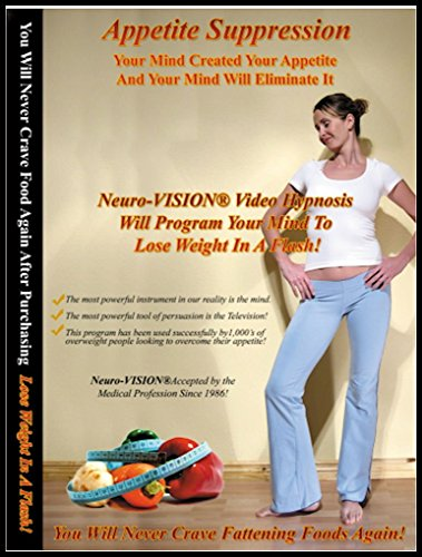 Lose Weight Video Hypnosis & NLP (1 DVD & 2 CDs) with Guided Meditation for Weight Loss - Unique Neuro-Vision Lose Weight in A Flash! from Neuro-VISION, Inc. - Alan B. Densky, CH