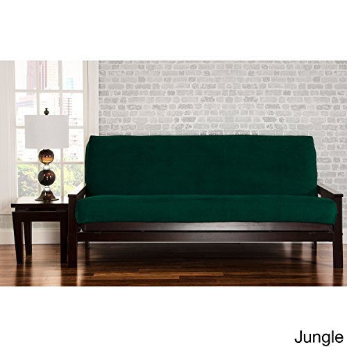 SIScovers Padma Futon Cover Jungle Green