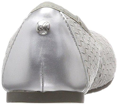 Bailarinas Comb s Oliver Mujer para Plateado 22118 Silver 1UnwTqHB