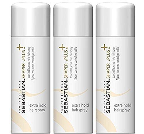 Sebastian's Shaper Plus 1.5 oz Travel Size Hair Spray (3 -