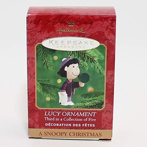 Hallmark Keepsake Ornament Peanuts Lucy