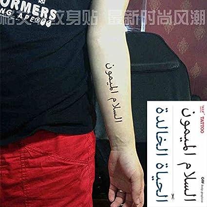 Zokey impermeable tatuaje temporal disparo hombre tibetano budista ...