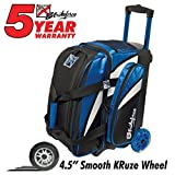 KR Cruiser Smooth Double Roller Bowling Bag () For Sale