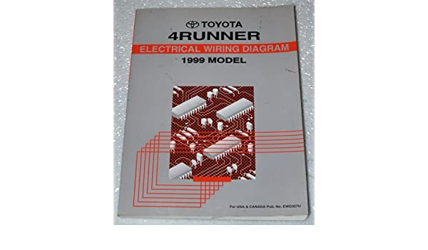 Electric Wiring Diagram Book : 1999 toyota 4runner electrical wiring diagrams rzn180 rzn185