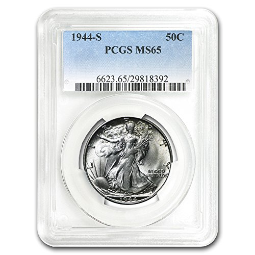 1944 S Walking Liberty Half Dollar MS-65 PCGS Half Dollar MS-65 PCGS