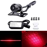 FICBOX Universal Car and Motorcycle Rear-end Alarm Laser Fog Taillight Anti-Collision Warning Lamp (Disco)