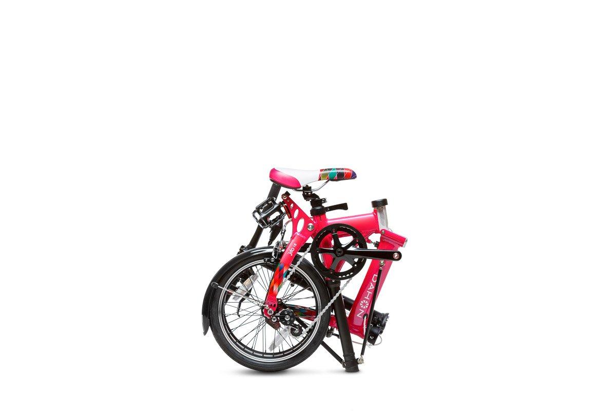 Dahon Jifo Bicicleta Plegable, Unisex Adulto, Cerise, 16