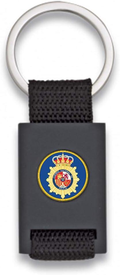 Tiendas LGP Albainox- Llavero con Escudo Policia Nacional CNP-Lona ...