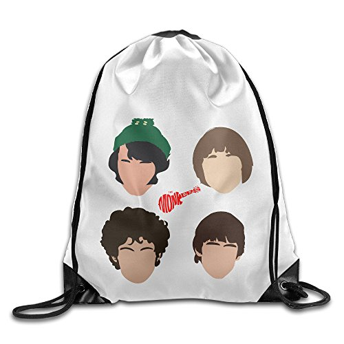 Bekey The Monkees Gym Drawstring Backpack Bags For Men & Women For Home Travel Storage Use Gym Traveling (Swiss Army Travel Blazer)