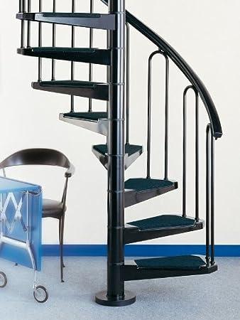Eje Escaleras AF 26 Escalera para espacios pequeños – DM 100 cm, K0001: Amazon.es: Bricolaje y herramientas