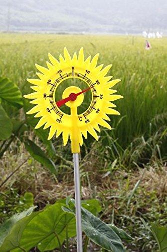 Gartenthermometer Balkonthermometer Thermometer Sonne Erdspieß