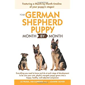 Your German Shepherd Puppy Month By Month 1
