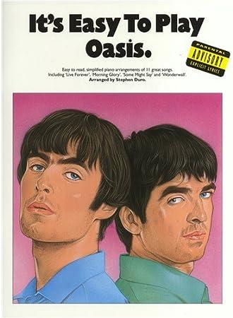 Its Easy To Play Oasis. Partituras para Piano, Voz y Guitarra ...