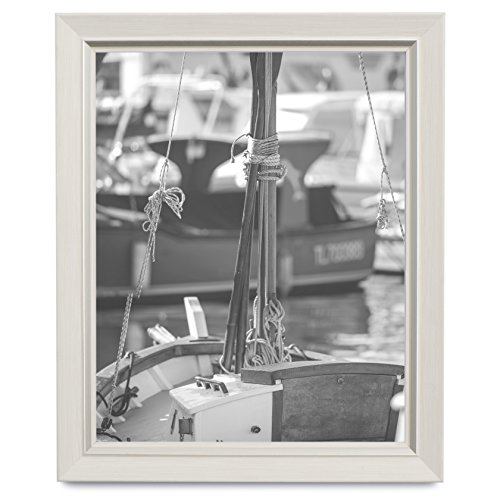 5x7 Picture Frame Light Wood - Tone Mount Desktop Display, Frames by EcoHome (Frames Plain Wood)