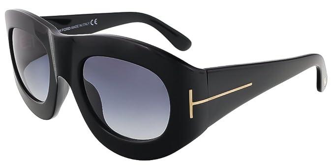 414a9f96ff Tom Ford Women s Sunglasses Black Black  Amazon.co.uk  Clothing