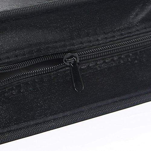 Portable CD DVD Wallet Case Binder Heavy Duty Disc Storage Bag Holder for Car,Home,Office,Travel,128 Capacity by Sun Cling