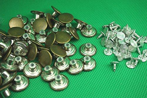 movable No-Sew EZ-Buttons Set of 6