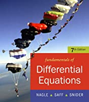Fundamentals of Differential Equations, 7th Edition
