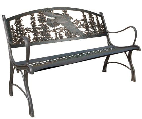 Eagle Cast Iron Bench Outdoor Benches Patio And Furniture