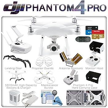 DJI Phantom 4 Pro Quadcopter (DJI CP.PT.000488) w/ eDigitalUSA Intelligent Flight Bundle