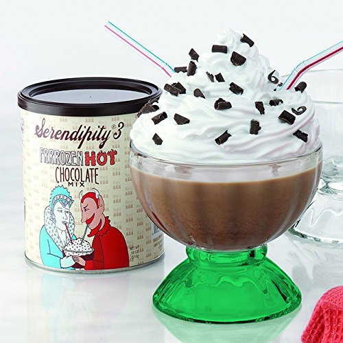Bottom E-Green Color Serendipity Frozen Hot Chocolate Party Gift Box (as seen on