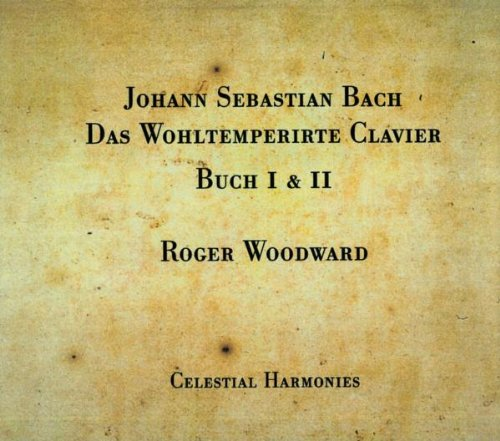 - Johann Sebastian Bach: The Well-Tempered Clavier, Books I & II, BWV 846-893 (5 CDs, Complete Edition)