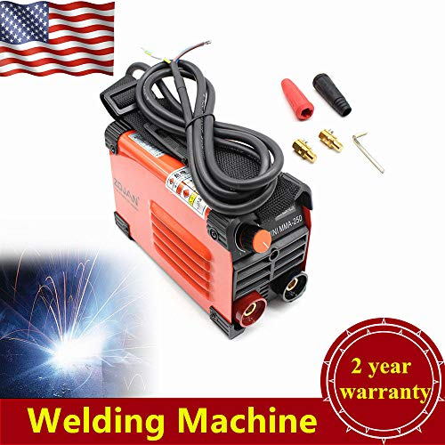 Electric Welder Inverter, 220V Mini Handheld Welder Converter ARC 20-160A Stick Welding Machine Portable Tool for Machinery Manufacturing, Sheet Metal Iron processing, Automotive Maintenance